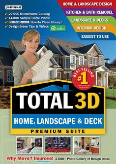 Total 3D Home, Landscape & Deck V11  [Download]. |  http://landscapeandlighting.net