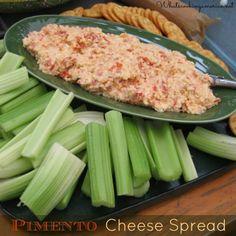 PImento Cheese Spread Recipe | whatscookingamerica.net  #pimento #cheese #spread #dip #appetizer