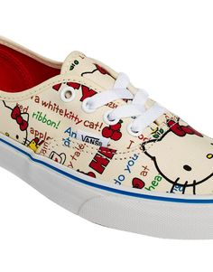 Image 2 of Vans Authentic Hello Kitty Trainers Vans Authentic 4be6f9ca6