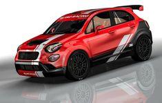 Fiat rally, quella da competizione - MotorAge New Generation Fiat 500x, Fiat Abarth, Volkswagen Caddy, Car Stickers, Car Decals, Peugeot, Chevrolet Spark, Gas Monkey Garage, Toyota 4x4