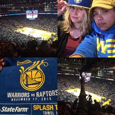 We planned to go to the bar and watch the game but bought tickets instead! #GoDubs #CoworkerDate #GoodTimes
