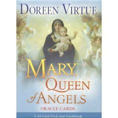 Mary, Queen of Angels by Doreen Virtue is a truly inspirational book about Mother Mary. Doreen Virtue is one of my favorite inspiration. Divination Cards, Tarot Cards, Doreen Virtue Oracle Cards, Book Annotation, Thing 1, Angel Cards, Archangel Michael, Archangel Gabriel, Deck Of Cards