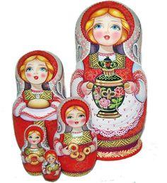 """Matriochka russe """"Samovar"""""""