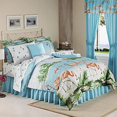 Flamingo Complete Bed Set from Seventh Avenue ®