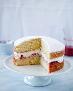 Victoria Sandwich by TreatsSF, via Flickr  (A tea time favorite of the sovereign herself)