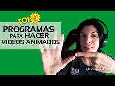 (5) Programas para hacer vídeos animados - YouTube Make Tutorial, Youtube, Google Classroom, Digital Marketing, Internet, Software, Social Media, School, Blog
