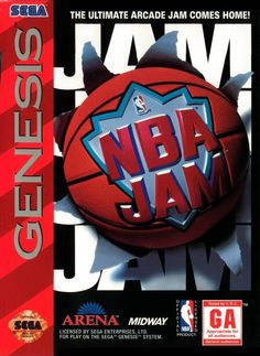 Complete NBA Jam - Sega Genesis Includes the original game cartridge, instruction manual, and game box. All of our items are checked for play quality and condition. This item is in good condition and has been tested and works. 90s Video Games, Vintage Video Games, Classic Video Games, Nba Video, Playstation, Nba Jam, Sega Cd, Sega Genesis Games, Nintendo