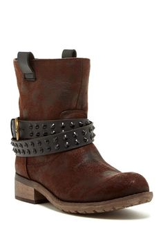 Rebels Travis Studded Strap Boot by Rebels on @HauteLook