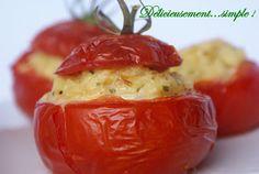 Délicieusement... simple !: Tomates farçies au risotto