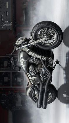 Bobber Motorcycle, Cool Motorcycles, Motorcycle Design, Bike Design, Custom Bikes, Custom Cars, Harley Bikes, Automotive Design, Motorbikes