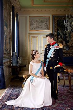 The Danish Royal Court have released 17 new, old and candid pictures of Crown Prince Frederik and crown princess Mary in celebration of their 10th wedding May 14, 2014