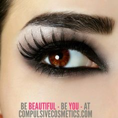 Beautiful, you!  #beautiful #beauty #makeup #cosmetics #you #me #stunning #sexy #girl #lashes #eyelashes