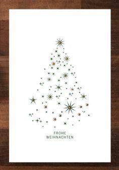 Christmascard handmade by mrswrite, Weihnachtskarte, Unikat. #weihnachtskarte www.mrswrite.de