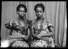 Eternally inspired by the photographs of iconic Malian photographer Seydou Keita.