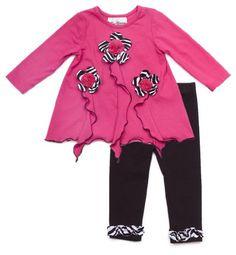 Rare Editions Baby-girls Newborn 3D Flower Applique « Clothing Impulse