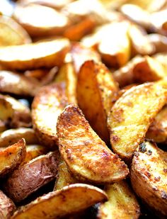 Once you learn the secret to perfectly roasted potato wedges, the sky is the limit!! These will become your favorite go-to side dish!