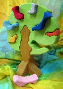Birds in a Tree Puzzle
