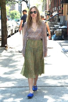 """hollywood-fashion: """" Suki Waterhouse out in NYC on July 21, 2016. """""""
