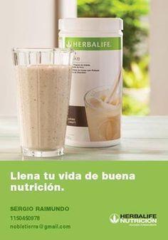 Llena tu vida de buena nutrición.