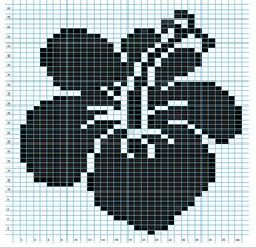 Ravelry: Hibiscus Flower Chart pattern by Elizabeth Thomas