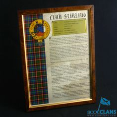 Framed Clan History