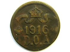1916 GERMAN EAST AFRICA 5 HELLER COIN  J239 German empire coins,Germany colonial coins
