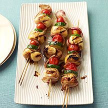Scallop and Bacon Kabobs