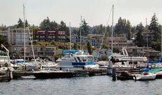 Waterfront and Marina.