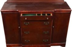 Freshen the drawers before filling them.