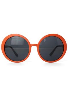 Orange Round Frame Sunglasses - Others - Accessory - Retro, Indie and  Unique Fashion Oculos 4d4194a3a3