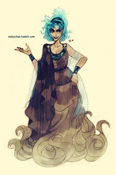 Fem!Hades by Maby-chan
