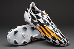 f4b44ff9bdb2bc Adidas F50 Adizero FG World Cup 2014 - Wht-Orng-Blk Football Gear