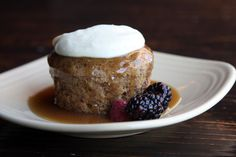 Sticky toffee pudding recipe from the Double Barrel Wine Bar in #livermorewine country