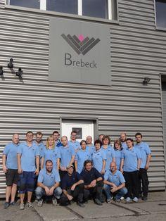 The Brebeck Composite team - 20 and counting. www.brebeckcomposite.com