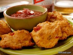 http://www.mrfood.com/Appetizers/Baked-Cheese-Drops-1527