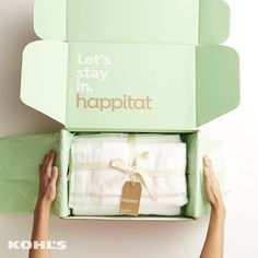 Find uncomplicated basics for your bedroom + bathroom at Kohl's. Find uncomplicated basics for your bedroom + bathroom at Kohl's. Refreshing your bedding and towe Brand Packaging, Packaging Design, Inside A House, Bathroom Towels, Unique Rugs, Cozy House, Bathroom Interior, Amazing Gardens, Decorative Boxes