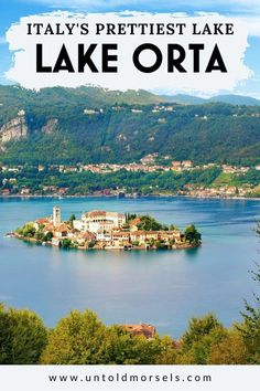 Explore Lake Orta in Italy's Piedmont region. Is this the most beautiful lake in Italy? We think so - read to find out why Things To Do In Italy, Places In Italy, Places To Visit, Piedmont Region, Italian Lakes, Florence Tuscany, Day Trip, Italy Travel, Wander