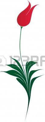 12135450-very-elegant-ottoman-style-tulip-illustration-over-white.jpg (147×400)