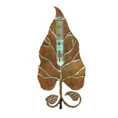 Ancient Graffiti Copperplated Leaf Rain Gauge by Ancient Graffiti. $24.38. Nature-inspired gifts. Creates an artistic blending of your style and garden environment. Measures 12-3/4-inch l by 5-3/4-inch w by 30-inch h. Created using natural materials. Ancient graffiti copperplated leaf rain gauge. This nature-inspired gift and accessory for your garden is created using natural materials. Handcrafted to create an item that is handsome, built to last and of good value. This item ...