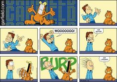 Garfield Comic Strip, April 26, 2015 on GoComics.com
