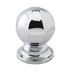 Beslag Design - Knob Banister chrome.