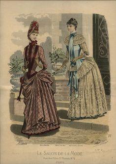 1000 images about fechada 1885 on pinterest bustle for A la mode salon brooklyn