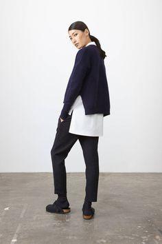 Studio Nicholson - Pre Autumn/Winter Ready-To-Wear Daily Fashion, Mode Style, Style Me, Studio Nicholson, Sous Pull, Yohji Yamamoto, Minimal Fashion, Minimal Chic, Birkenstock