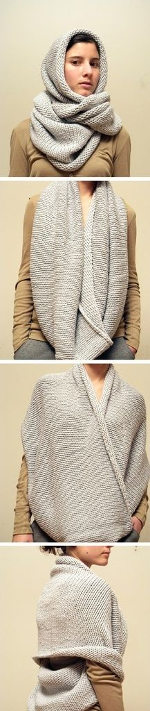 Knitting inspiration - no pattern.