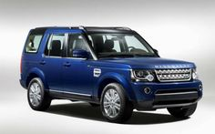2016 Land Rover Discovery Blue