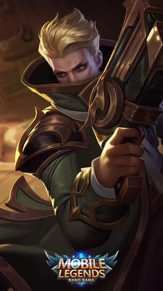 What Do You Think About Martis Fighter Hero on Mobile Legends? Bruno Mobile Legends, Miya Mobile Legends, Black Phone Wallpaper, Hero Wallpaper, Custom Wallpaper, Moba Legends, Alucard Mobile Legends, Legend Images, Mobile Legend Wallpaper