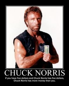 Chuck Norris.. https://www.facebook.com/photo.php?fbid=10202613163623886&set=a.1631803388566.2081200.1041081714&type=1&theater