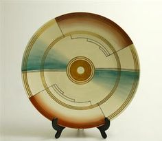 Plate by Nora Gulbrandsen for Porsgrund Porselen.