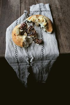 BIALY STUFFED W/ CREAM CHEESE AND HONEY DATES – Lady and Pups – an angry food blog