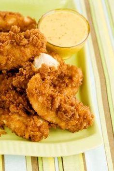 Paula Dean chicken fingers